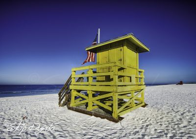 Siesta Key Lifeguard Shack