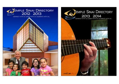Temple Sinai Covers II