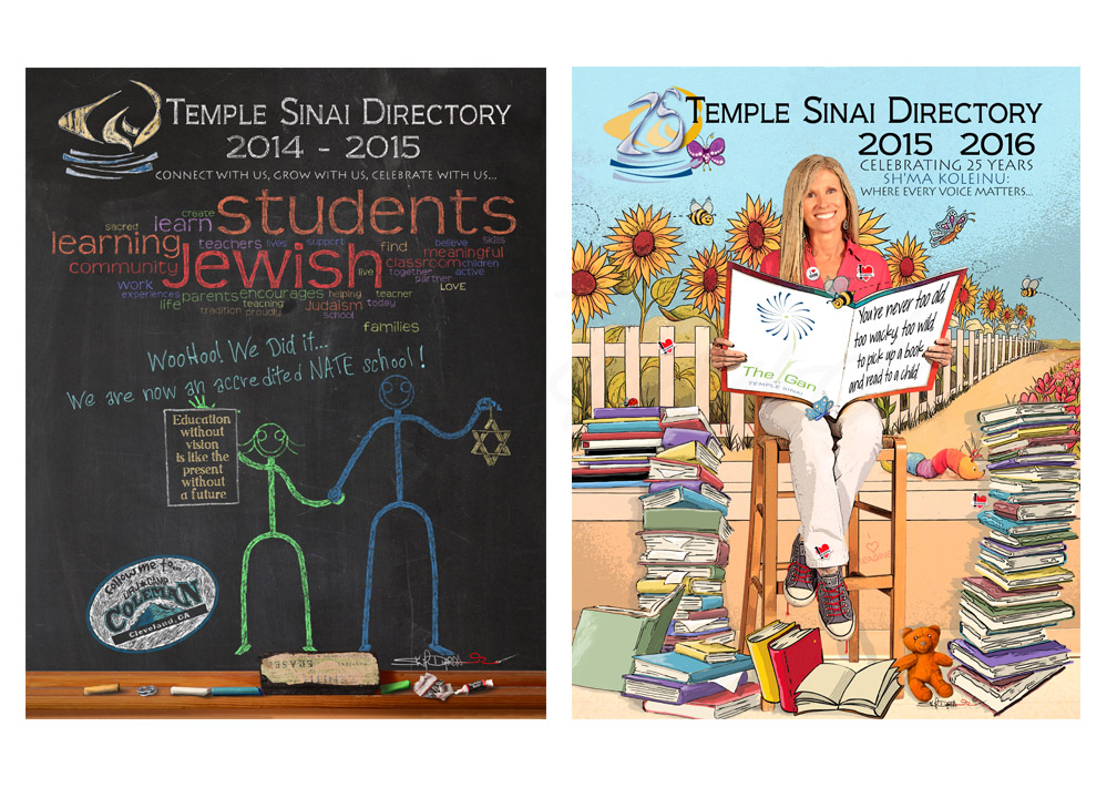 Temple Sinai Covers I